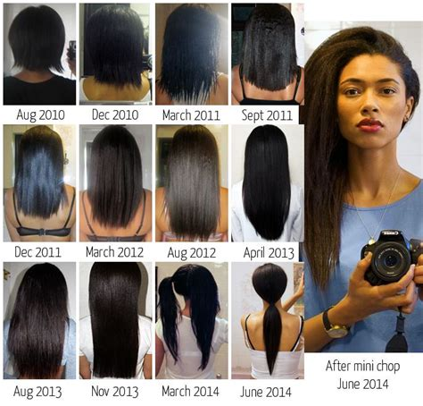 short haircuts when hair grows low on neck 25 best ideas about relaxed hair journey on pinterest