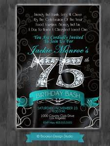 25 best ideas about 75th birthday invitations on 70th birthday invitations 90th
