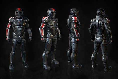 N7 Mass Effect n7 armor from mass effect andromeda 0