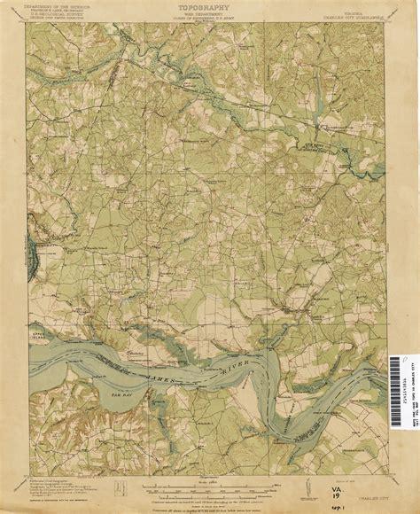 virginia topographic map historic topographic maps of virginia