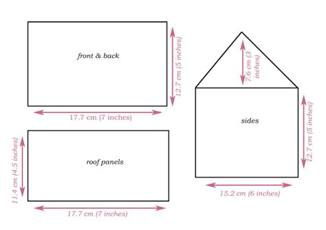 search results for gingerbread house template printable