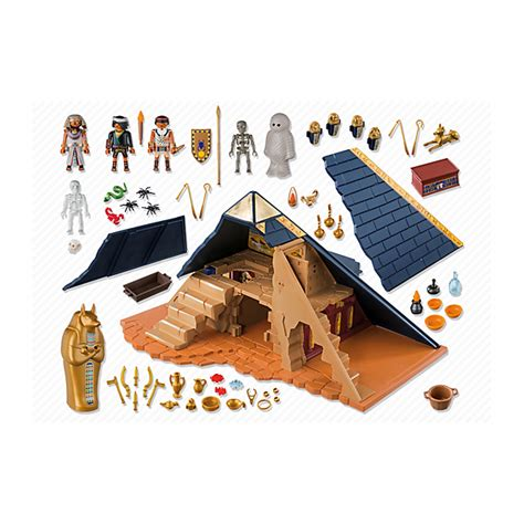 Piramida Set by Playmobil Set 5386 Pyramid Klickypedia