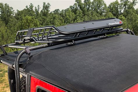 Rugged Ridge Roof Rack by Rugged Ridge 11703 03 Spartacus Roof Rack Basket With