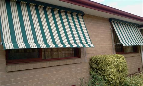 Exterior Canvas Awnings by Outdoor Canvas Awnings The Fitter
