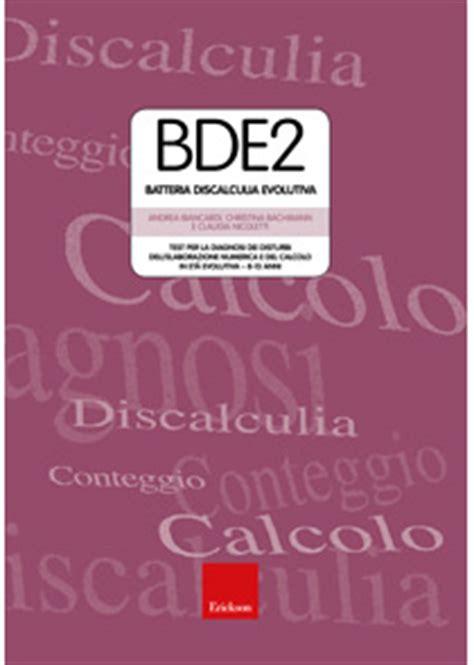 test per discalculia bde 2 batteria discalculia evolutiva