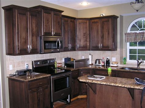 kitchen cabinet refacing in a mediterranean stain