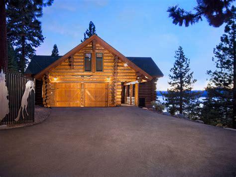 Lake Tahoe Lodging Cabins by Tunnel Creek Lodge Luxurious Log Cabin Lodge Overlooking