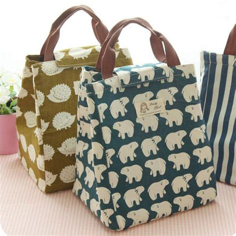 Tas Bekal Lunch Bag tas bekal lunch bag blue