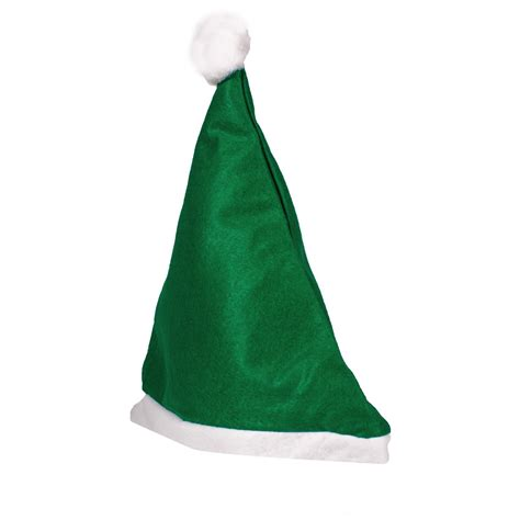 felt santa hat variety of colors imprintable hats