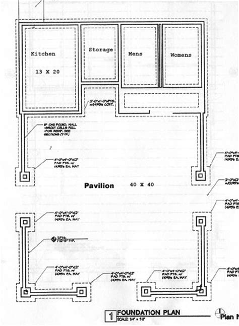 Home Designs And Floor Plans proposed westside park pavilion blueprints