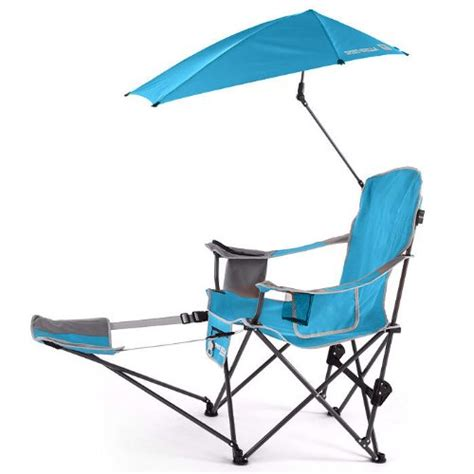 armchair sports sport brella chair with umbrella and ottoman