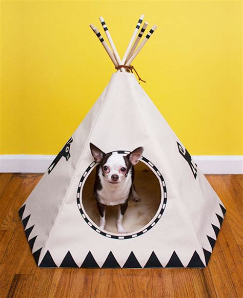 puppy teepee 15 ultra chic beds for every pup parent s style and budget barkpost