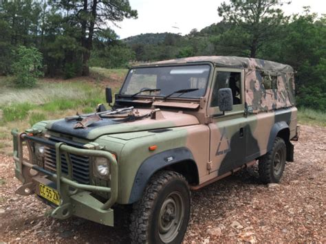 land rover camo land rover defender 110 1988 camo for sale