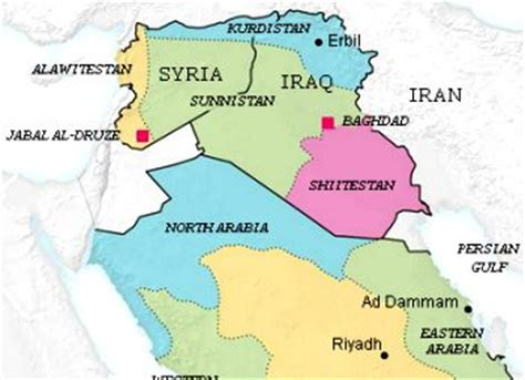middle east map redrawn the ny times fancy map of how five countries in the middle