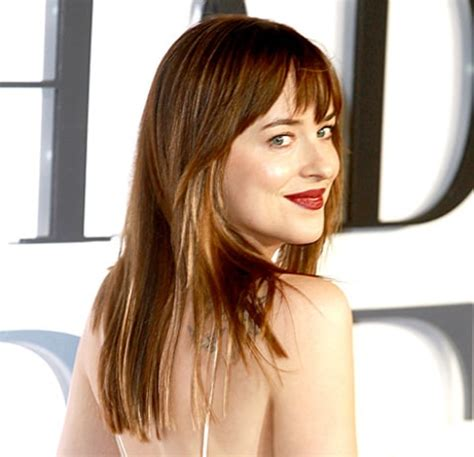 how to get dakota johnsons hairstyle dakota johnson cuts long hair into a long bob hairstyle
