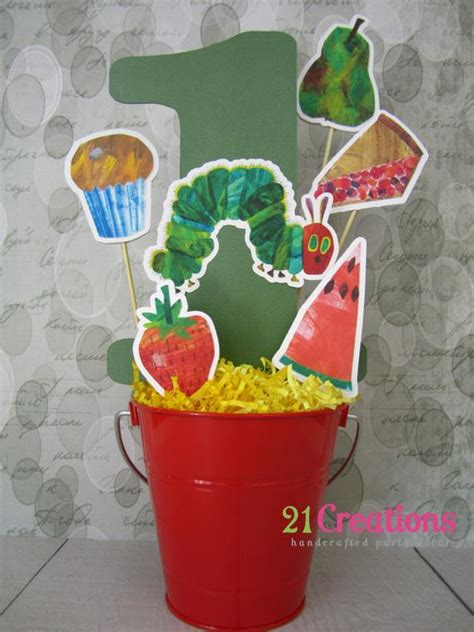 hungry caterpillar centerpiece not included