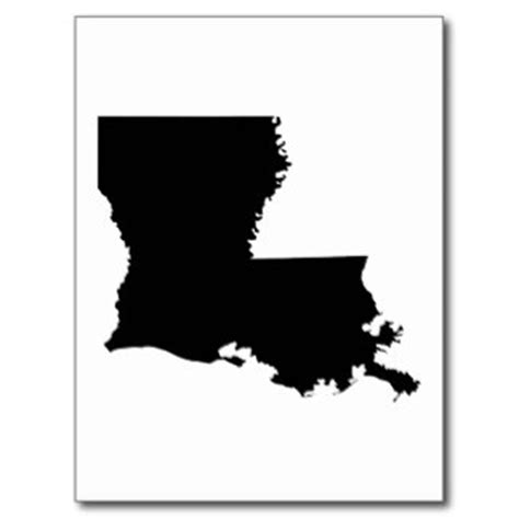 louisiana map black and white louisiana map outline clipart best