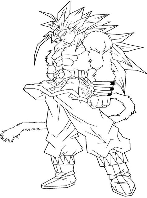 coloring pages goku ssj goku coloring pages coloring home