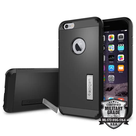 Iphone 6 6g 6s Casing Cover Spigen Rugged Armor Bumper iphone 6 plus tough armor iphone 6 plus apple