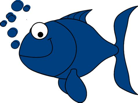 fish clipart blue fish clip at clker vector clip