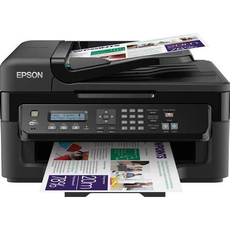 Printer Epson Copy epson workforce wf 2530wf a4 colour multifunction inkjet printer c11cc37301