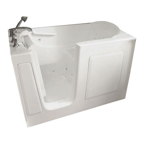american standard walk in bathtubs american standard gelcoat standard series 60 in x 30 in
