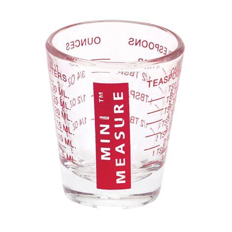 Cuisinart Kitchen Knives Mini Measure Multi Purpose Measuring Cup Shotglass Red
