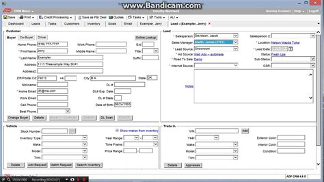 automotive desking software adp crm tutorial post test drive 8 1 2014