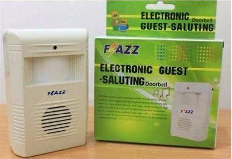 Sensor Gerak Alarm Sensor Orang Lewat Bunyi bel alarm tamu dengan salam lengkap sensor sinar dan gerak harga jual