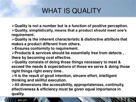 Explain Quality Quality Assurance In Hospitals