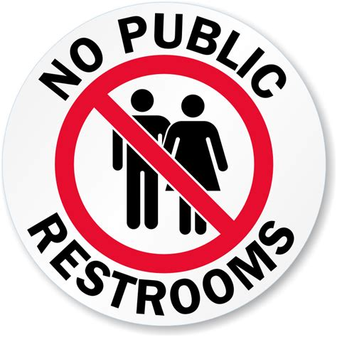 Free Printable Bathroom Signs by Restroom Closed Out Of Order Sign Nhe 8640 1000gif Public