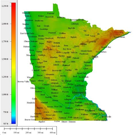minnesota topographic map minnesota topographic map my
