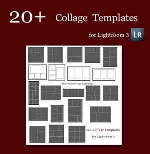free card templates for lightroom collage template lightroom and free collage templates on