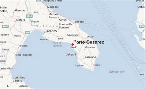 mappa porto cesareo porto cesareo location guide