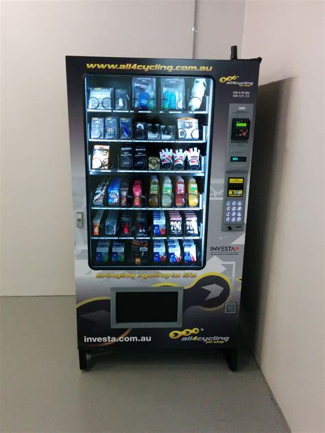 Gift Card Vending Machine Locations - velodome adds vending machines to product line that dispense bicycle repair parts