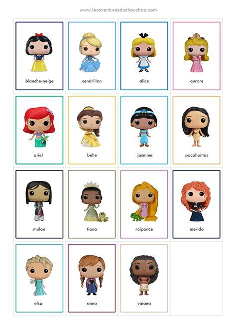 Jeu De Memory 224 Imprimer Memory Game Printable Disney