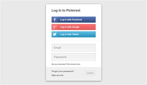 social login with support center
