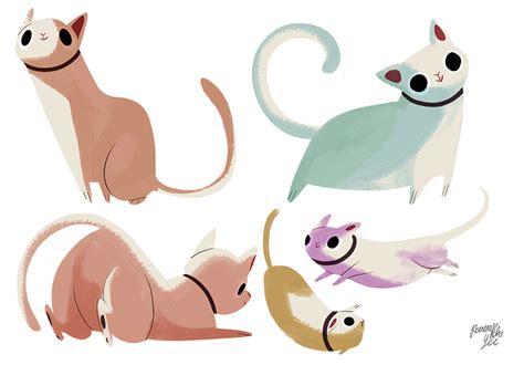 cat characters cat character design by callupish on deviantart