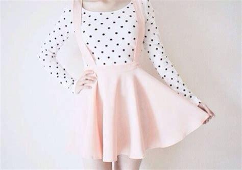 celebrity pink overall dress skirt pastel pink dress shirt skirt pink overall