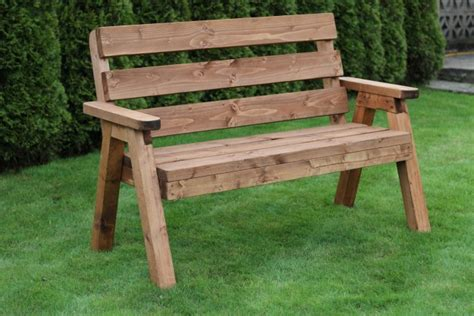solid wood garden bench solid 2 seater wooden garden bench traditional design