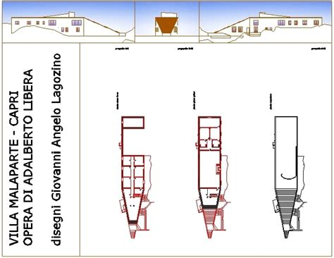 villa malaparte interni architettura e progetti di qualit 224 villa malaparte