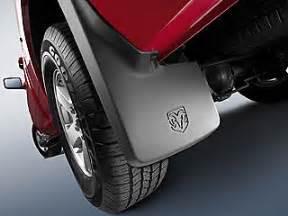 Dodge Ram 1500 Mud Flaps 2009 2011 Dodge Ram 1500 Mopar Splash Guards Mud Flaps For
