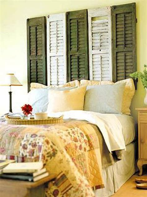old shutters for headboard repurposed headboards from trash to treasure ah l