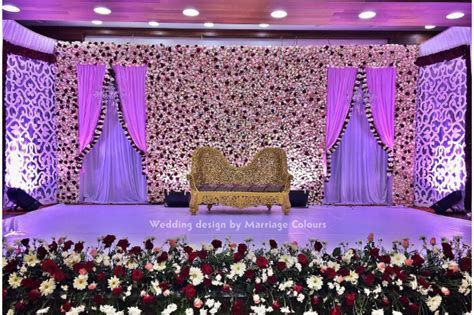 Flower wall wedding backdrop  Chennai