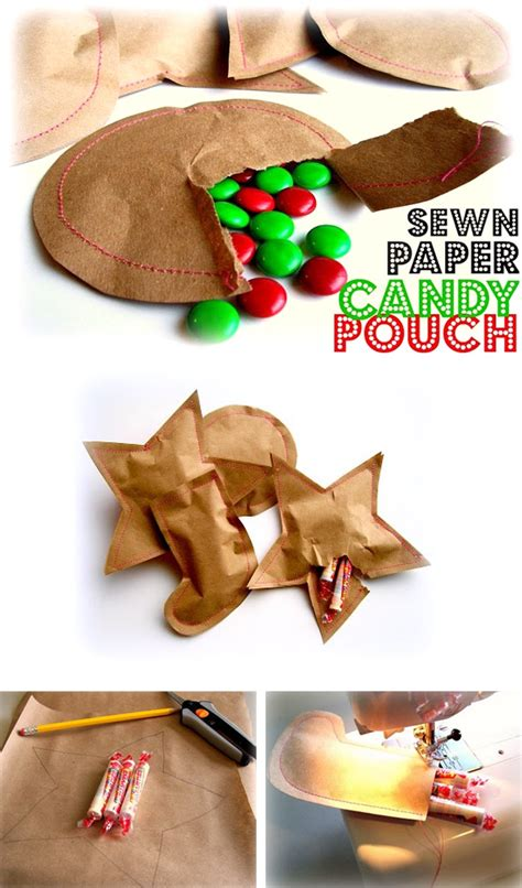 Paper Bag Crafts For Adults - paper pouch