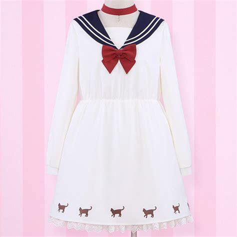 sailor moon costume japanese bow dresses cute kawaii