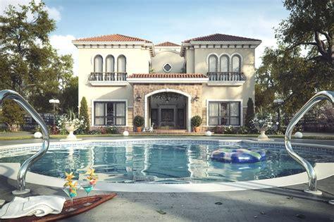 Home Design In Uae Luxury Tuscan Villa Dubai 171 Adelto Adelto