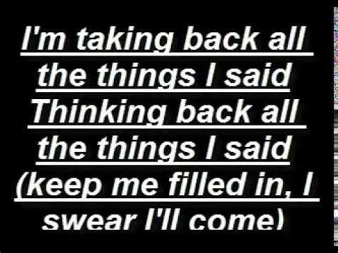Some Comfort Here Lyrics by Underoath Writing On The Walls Lyrics