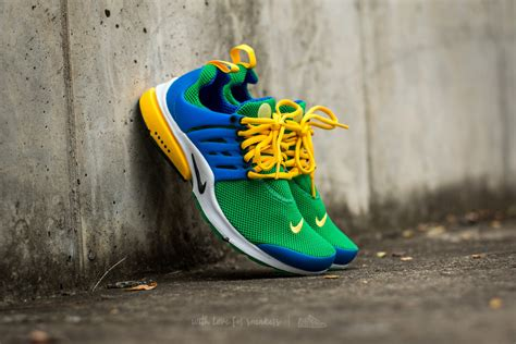 Sepatu Sneakers Nike Air Presto Gs Black Green Grade Original 39 44 nike air presto essential lucky green black hyper cobalt footshop