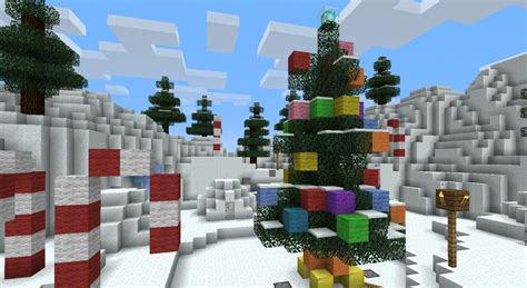 minecraft christmas tree map science santa minecraft adventure wordpuncher s experience